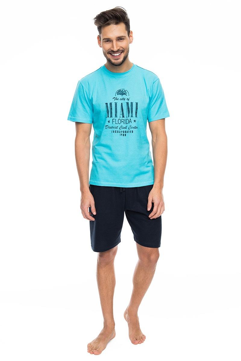 Rossli Pijama barbateasca Miami blue