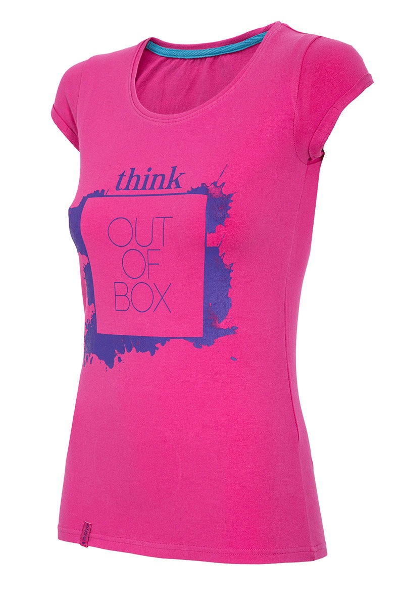 4F Tricou sport de dama Think out of box