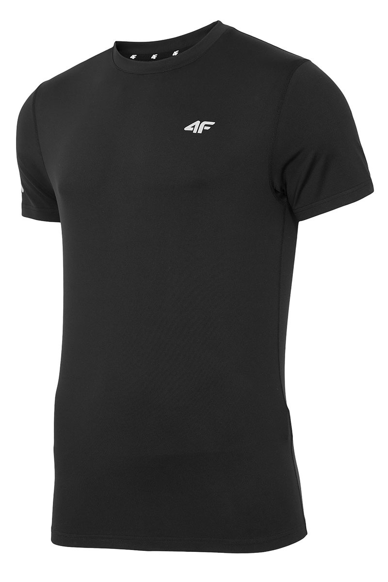 4F Tricou sport barbatesc Black