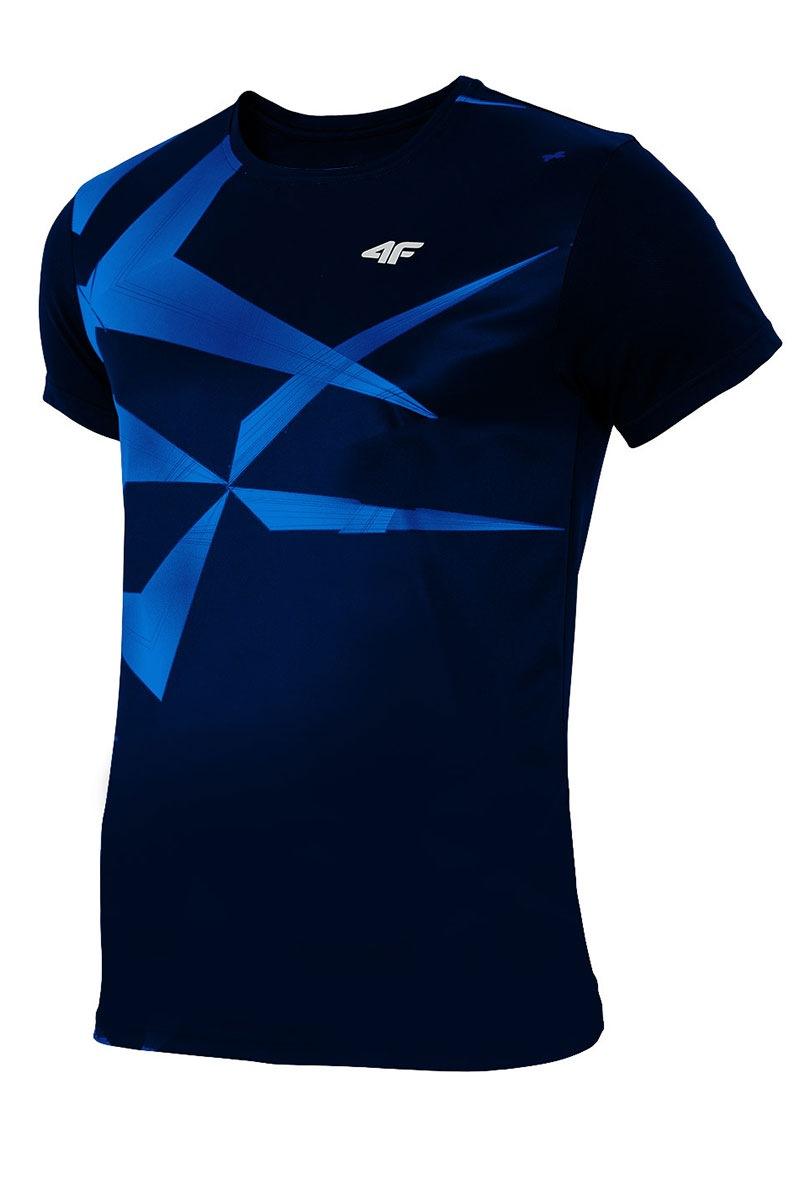 4F Tricou sport barbatesc Blue effect