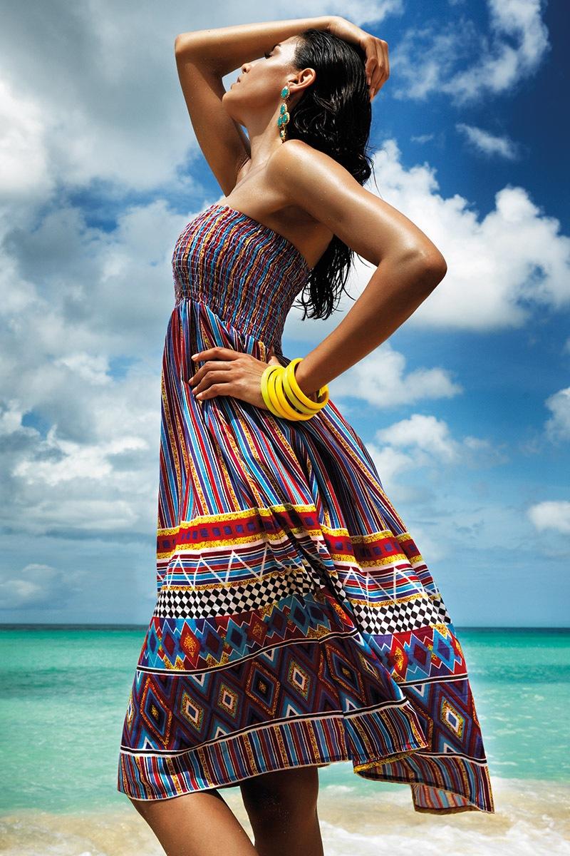 Vacanze Rochie de plaja 2 in 1 Clarinda din colectia Vacanze