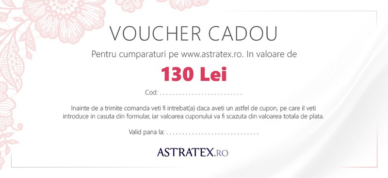 Astratex Cupon cadou 130 Lei
