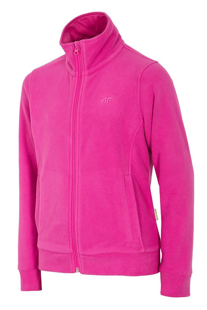 4F Bluza feece Pink 4F pentru fetite