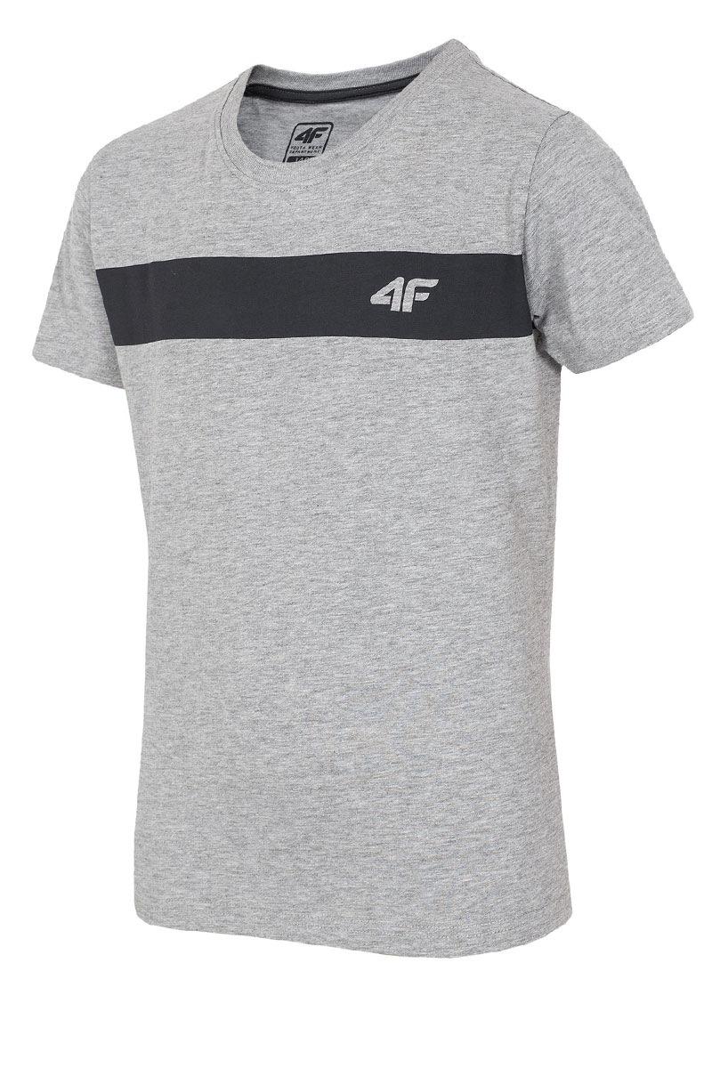 4F Tricou copii Grey 4f