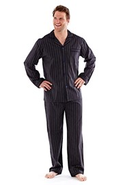 Pijama barbateasca Harvey Black Stripe Long