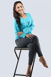 Pijama dama Magnific turcoaz