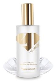 Bijoux Indiscrets Twenty One 2 in 1, gel pe baza de silicon pentru masaj si lubrifiere