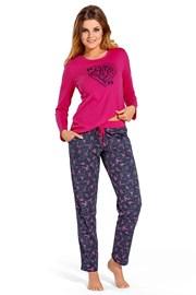 Pijama dama All we need, din bumbac