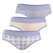 3pack chilot Grey din bumbac