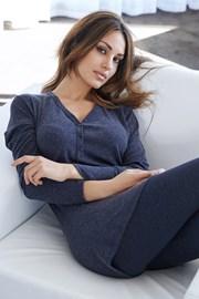 Pijama dama Lazy days blue