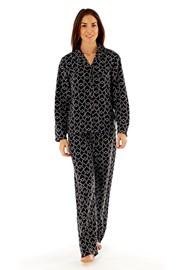 Pijama dama Jennifer Black, material fleece