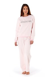 Pijama dama Weekend Girl Pink
