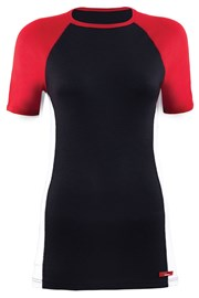 Tricou universal Black din material functional