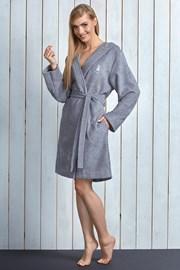 Capot dama Alba Grey din fibre de bambus