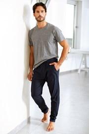 Pantalon de trening pentru barbati Enrico Coveri, albastru, din bumbac