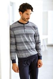 Set barbatesc Lucca, din bumbac - bluza, pantalon