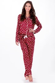 Pijama dama Elegance Red