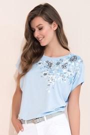 Bluza eleganta Gina Blue