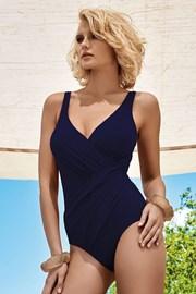 Costum de baie de lux Athena Blue, efect de subtiere