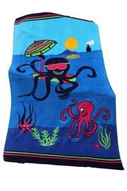 Prosop plaja copii Octopus