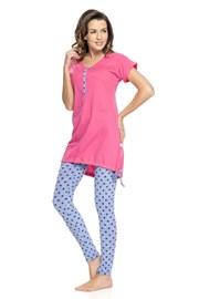 Pijama sarcina si alaptare Rosy