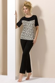 Pijama eleganta Lady Black