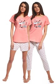 Set pijama Red Shoes 3 piese