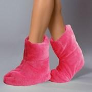 Papuci de casa caldurosi Pink