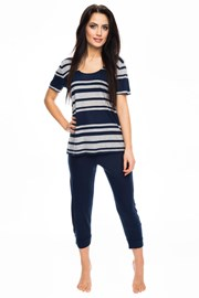 Pijama dama Blue stripes