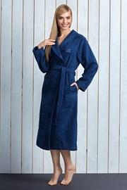 Capot dama Tracy Navy din fibre de bambus
