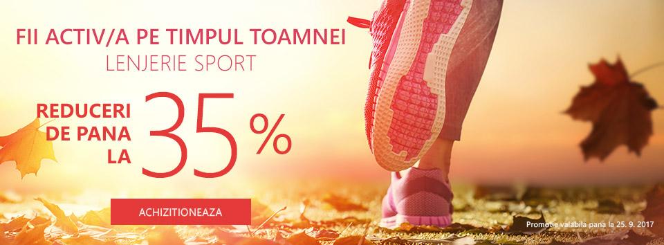 Articole sportive - 35 %