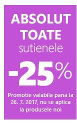 Toate sutienele -25 %.
