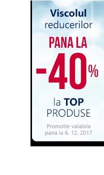 Promotie la top produse pana la 40 %