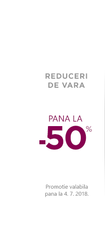 Promotie de Craciun. Reduceri de pana la 50 % la gama de produse.