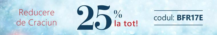 Reducere 25 %