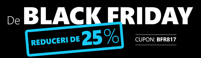 Black Friday -25 %.