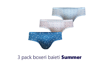 3 pack chiloti baieti Summer